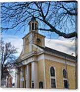 First Parish Church Beverly Ma Canvas Print