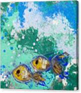 2 Fish Canvas Print