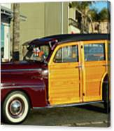 Ford California Woody Station Wagon Canvas Print