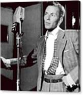 Frank Sinatra William Gottlieb Photo Liederkranz Hall New York City 1947-2015 Canvas Print