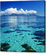 French Polynesia, Moorea Canvas Print