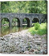 Glass Mill Bridge Canvas Print