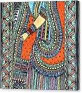 Gopi Canvas Print