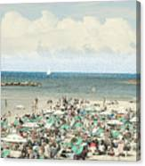 Gordon Beach, Tel Aviv, Israel Canvas Print