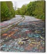 Graffiti Highway, Facing North Canvas Print