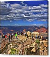 Grand Canyon #  4 - Mather Point Overlook Canvas Print