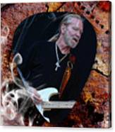 Gregg Allman Art Canvas Print