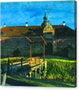 Gripsholm Castle Castle Autumn  Canvas Print