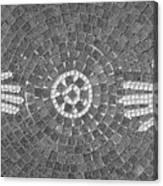 Hans Mosaic Canvas Print