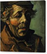 Head Of A Peasant With Cap Canvas Print