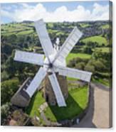 Heage Windmill Canvas Print