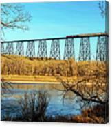 High Level Bridge Canvas Print