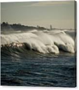 High Surf Canvas Print