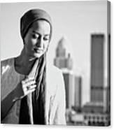 Hijab Fashion Canvas Print