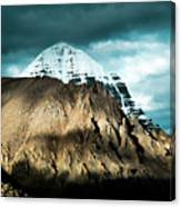 Holy Kailas East Slop Himalayas Tibet Yantra.lv Canvas Print