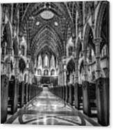 Holy Name Cathedral Canvas Print
