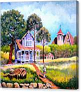 Home From School Canvas Print