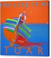 Hot Boat Canvas Print