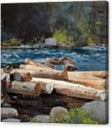 Hudson River Canvas Print