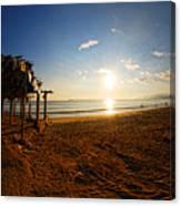 Huequito Beach Canvas Print