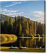 Hume Lake Canvas Print