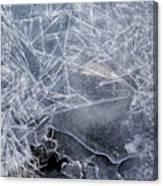 2. Ice Pattern 1, Corbridge Canvas Print