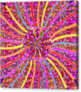 Infinity Star Flower An Abstract Fineart Expression By Navinjoshi At Fineartamerica.com Colorful Spe Canvas Print