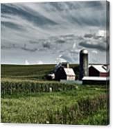 Iowa Farmstead Canvas Print