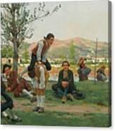 Italian Saltarello Cavallucio Canvas Print