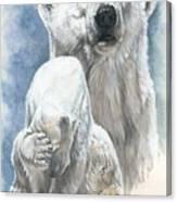 Ivory Canvas Print