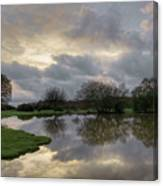 Janesmoor Pond - New Forest Canvas Print
