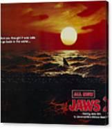 Jaws 2 1978  Canvas Print
