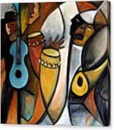 Jazzz Canvas Print