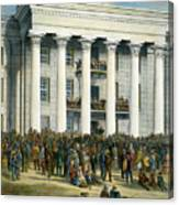 Jefferson Davis Canvas Print