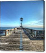 Jennettes Pier Nags Head North Carolina Canvas Print