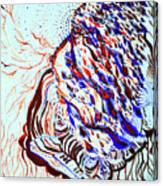 Jesus Of Gethsemane Canvas Print