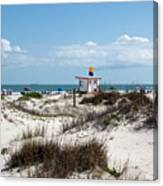 Jetty Park On Cape Canaveral In Florida Canvas Print