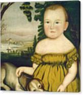 Joshua Lamb Canvas Print