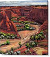 Junction Canyon De Chelly Canvas Print