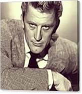 Kirk Douglas, Vintage Actor Canvas Print