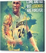Kobe Bryant Canvas Print