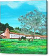 La Purisima Mission Canvas Print