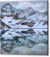 Lake Mcarthur Reflection Panoramic Canvas Print