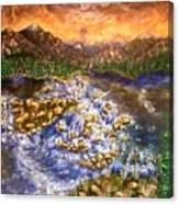 Lake Succession Canvas Print