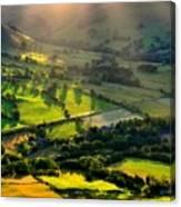Landscape By Canvas Print
