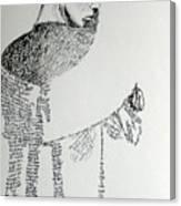 Language Of Cloth Canvas Print