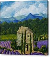 Lavender Farm Canvas Print
