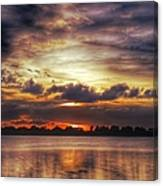 Layered Clouds Canvas Print