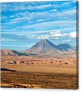 Licancabur Volcano View Canvas Print