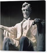 Lincoln Memorial: Statue Canvas Print